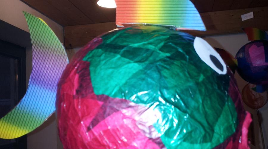 Fische aus luftballons basteln erzieherin ausbildung und stellenangebote - Fische basteln aus papier ...