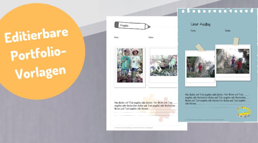 Portfolios In Kindergarten Und Krippe Infos Beispiele Und