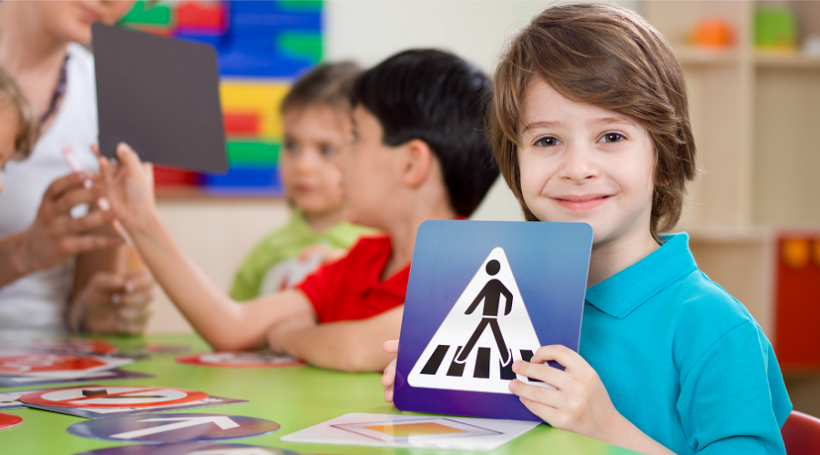 Verkehrserziehung Kindergarten