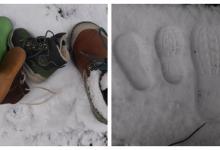 Spiel zu welchem Schuh gehört der Schuhabdruck