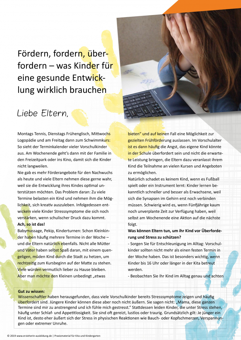Wie schreibe eine abschiedsbrief für die kindergarten