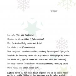 Erzieher Steckbrief Muster PDF Winter