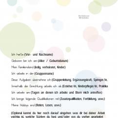 PDF Steckbrief Vorlage Blasen